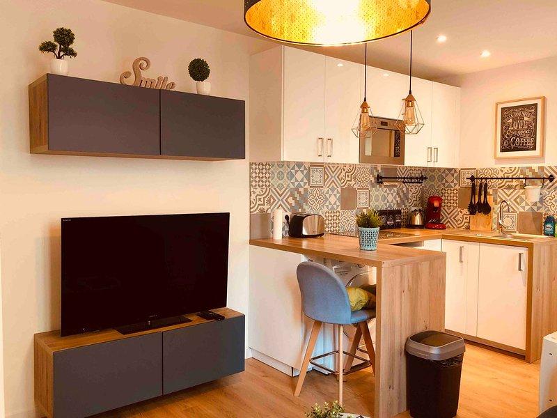 Cosy Family Apartment Near Montmartre, alquiler vacacional en Clichy