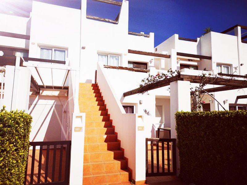 2 Bedroom first floor apartment on Condado, vacation rental in Santomera
