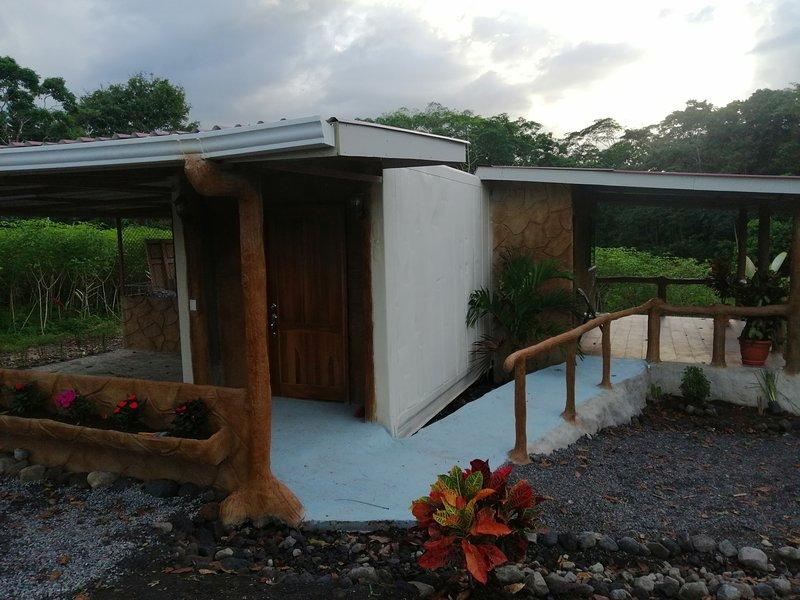 Arenal Delux Granja Agua Azul, alquiler vacacional en Agua Azul