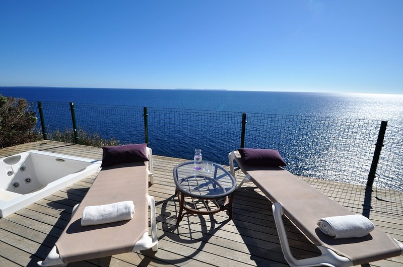 Calendar 2021 Opened- CASA CABRERA -Front line Villa sea views Cala Pi Cove. Gre, vacation rental in Cala Pi