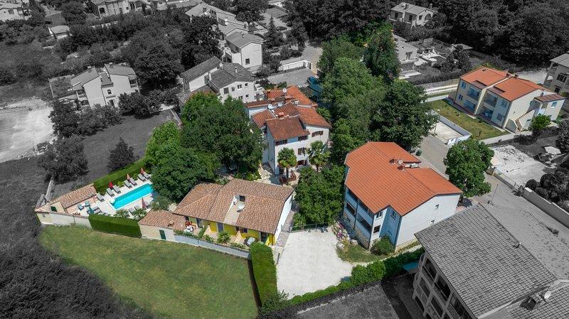 Ferienwohnung 4928-8 für 2+1 Pers. in Porec, vacation rental in Stancija Vodopija