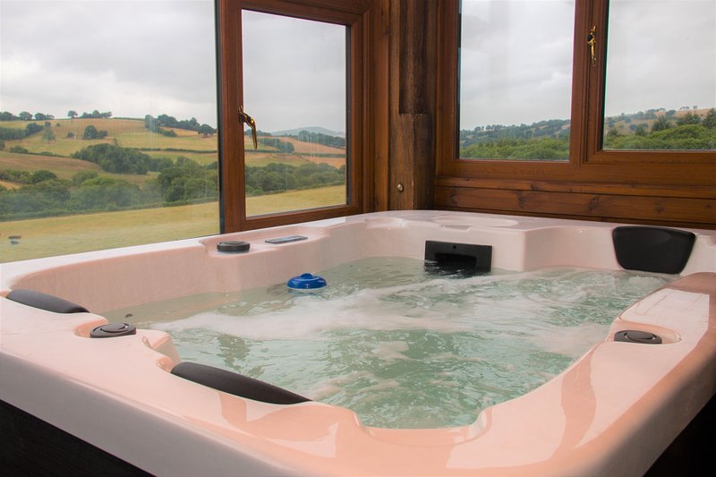Vale Horn Beam - Vale Hornbeam sleeps 5 with shared indoor swimming pool and hot, location de vacances à Gwenddwr