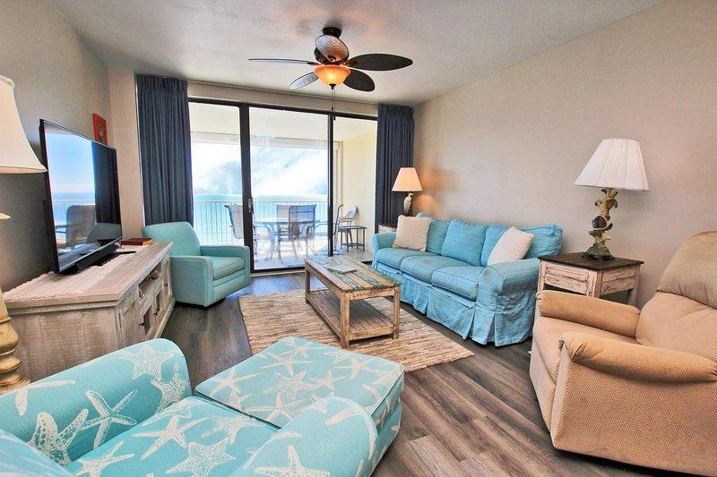 Hermoso piso 14 recientemente remodelado condominio frente al golfo en Orange Beach