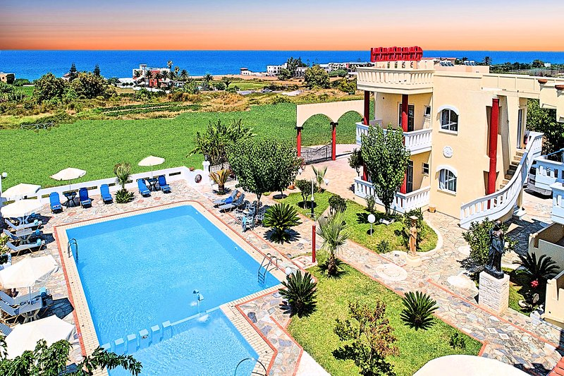 Palladion Hotel | Suite Sea View, holiday rental in Paralia Kourna