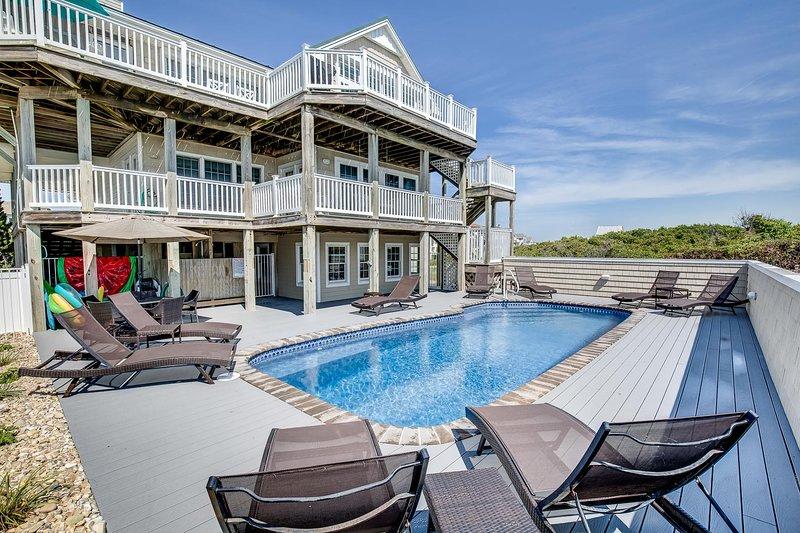 The Duck House | Oceanfront | Private Pool | Duck, alquiler de vacaciones en Duck
