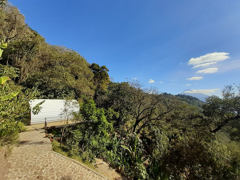 Casa Coi sits in nature & is completely private.
