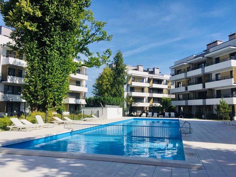 Apartament Amber Baltic, location de vacances à Ustronie Morskie