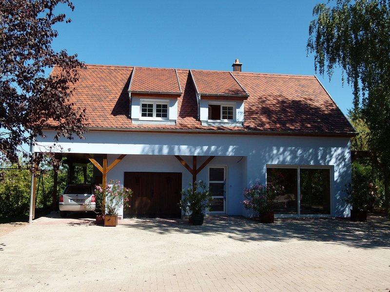 Magnifique studio gite ou chambre d'hote au coeur du vignoble, holiday rental in Chatenois