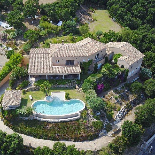 Villa 180 ° view Gulf of Saint-Tropez