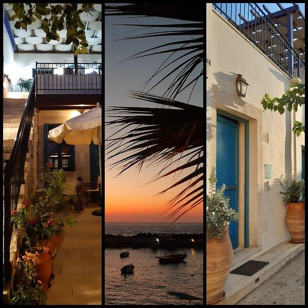 AVGERINOS et ESPEROS apts à la mer, holiday rental in Panormos