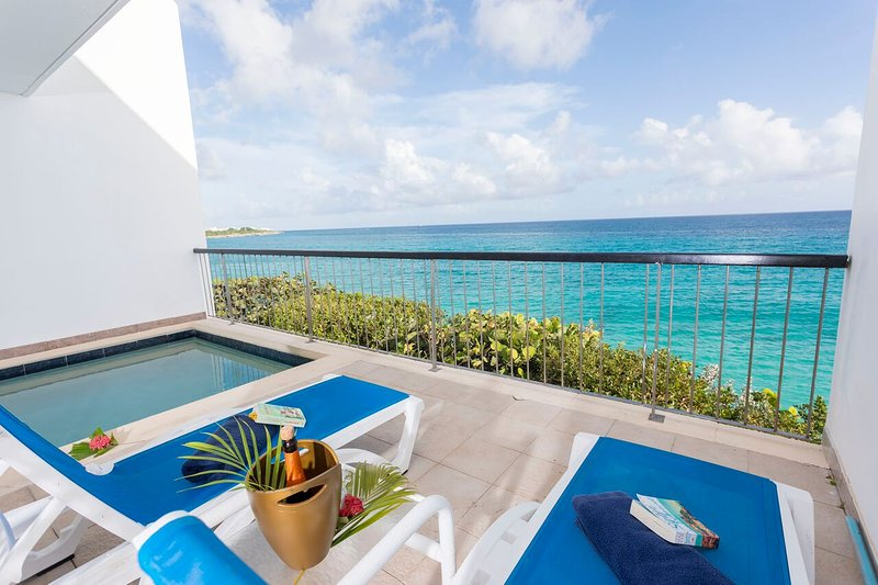 Apartment with swimming-pool, location de vacances à Cupecoy Bay