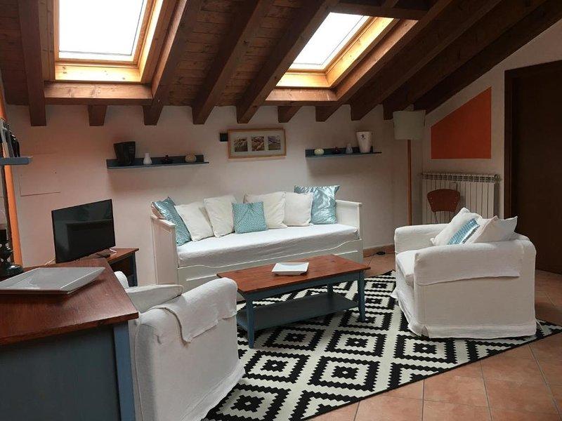 Apartment in Monticelli Brusati, Ferienwohnung in Calino