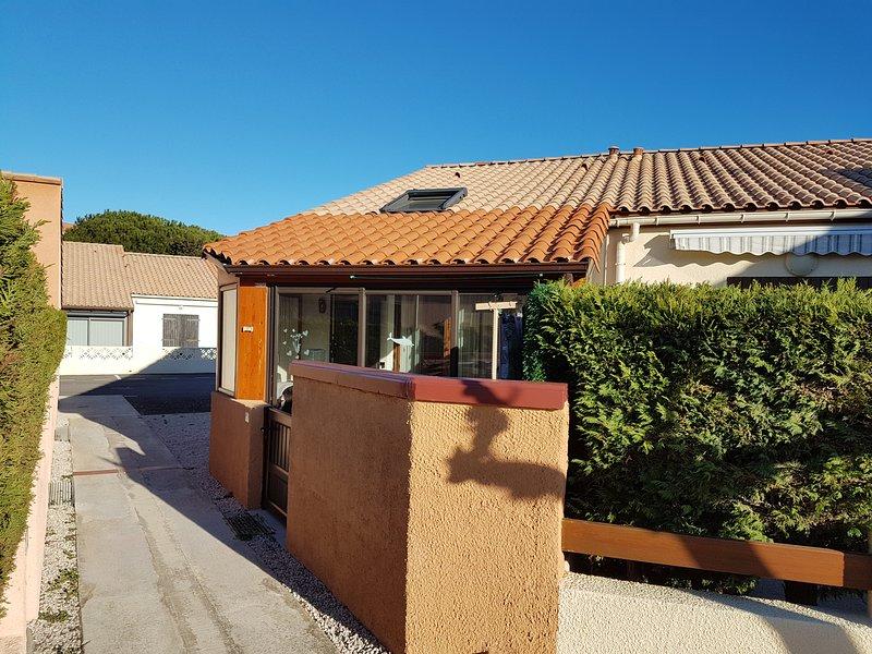 Amazing house with garden & terrace – semesterbostad i Port Leucate