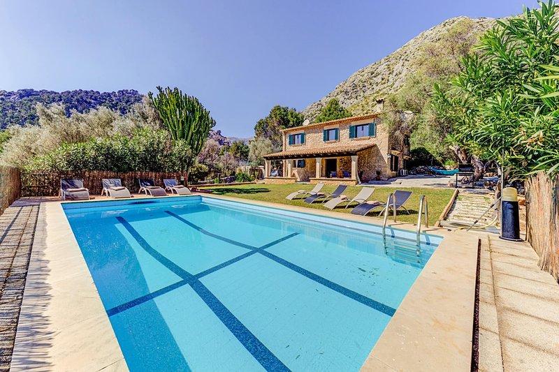 Villa Plana den Rull, vacation rental in Pollenca