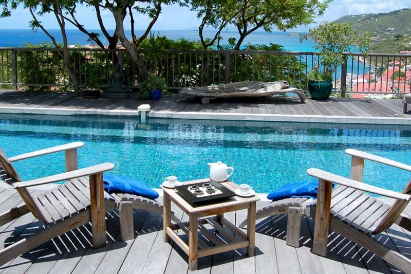 Villa Serenity | Ocean View - Located in Magnificent Gustavia with Private Poo, vacation rental in Gustavia