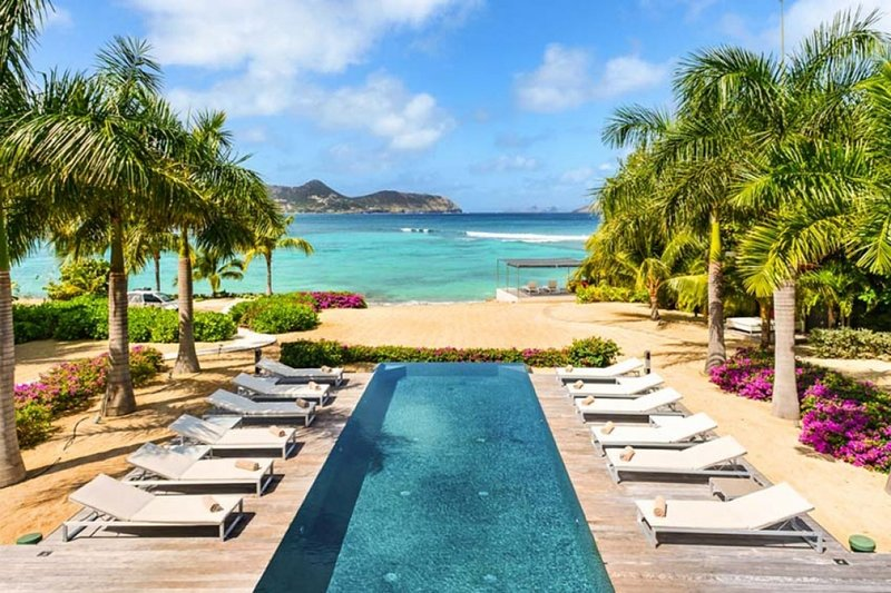 Villa Palm Beach | Beach Front - Located in Beautiful Lorient Beach with Priva, alquiler de vacaciones en Anse de Lorient