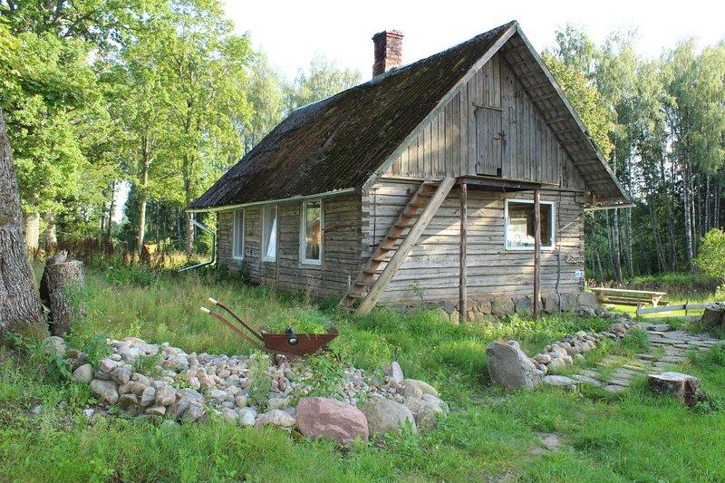 Wild'ness Retreat in Gauja National Park - Wild Moss cabin, alquiler de vacaciones en Letonia