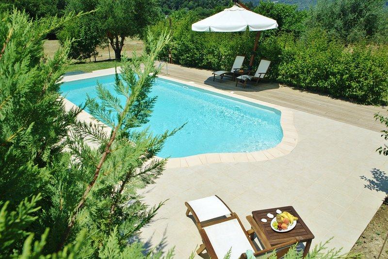 villa primarossa vasiliki lefkada il viaggio verde complex, holiday rental in Vasiliki