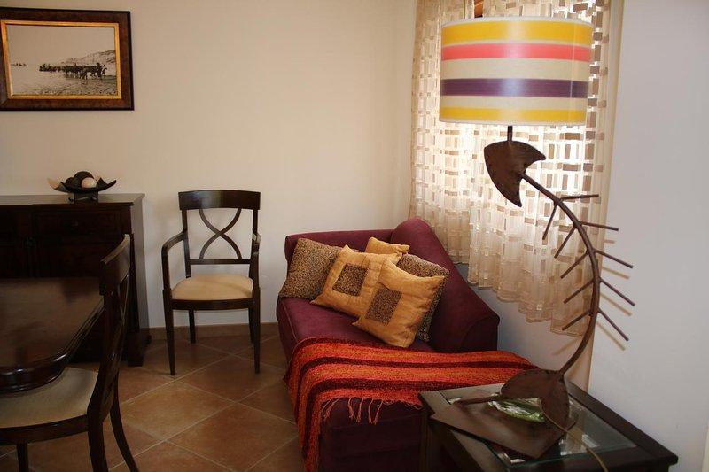 Spacious apartment with sea view, location de vacances à Barrio