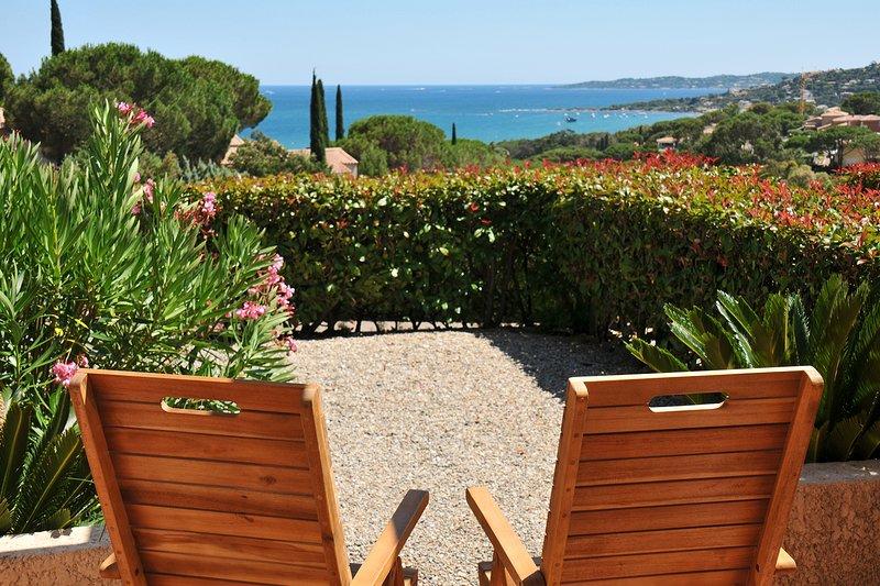 Appartement vue mer à sainte-maxime, holiday rental in Sainte-Maxime