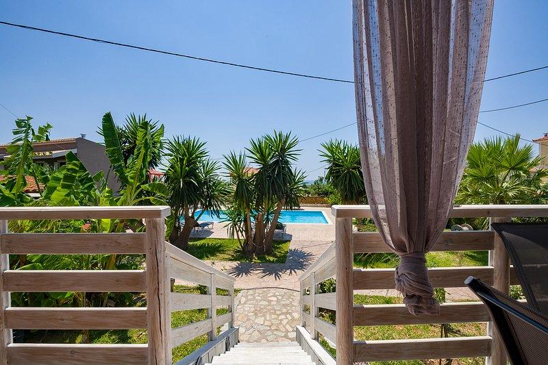 BRAND NEW: Semeli Art Villa Kefalonia Pool & Bikes, vacation rental in Svoronata