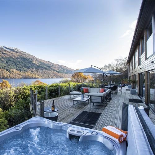 Hollybank House, holiday rental in Tarbet