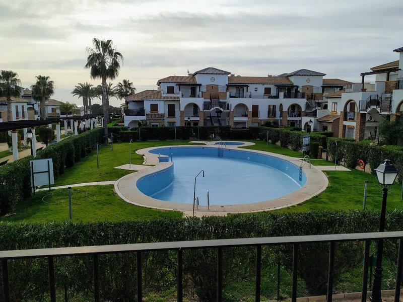 Apartamento Al Andalus Residencial. 2 habitaciones, alquiler vacacional en Playas de Vera