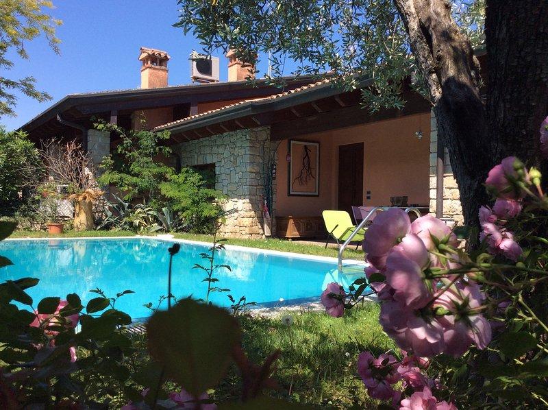 Villa del Lago with Pool Exclusive, vacation rental in Soiano Del Lago