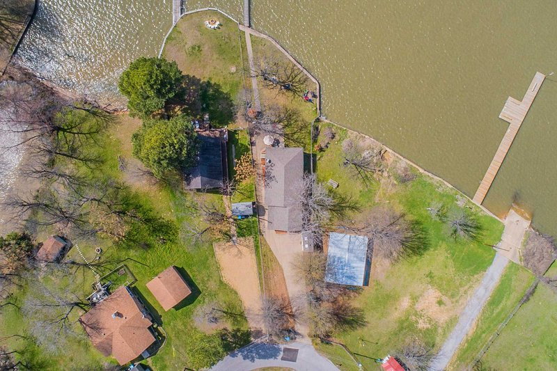 NEW-Home w/Private Dock & Boat on Cedar Creek Lake UPDATED ...