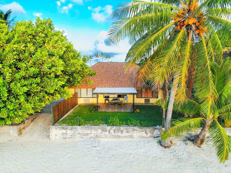 Matira Beach House, alquiler de vacaciones en Bora Bora