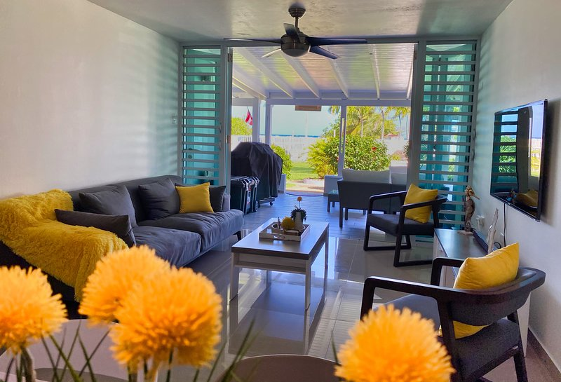 NEW... Beautiful Totally Remodeled Beachfront Villa, holiday rental in Dorado