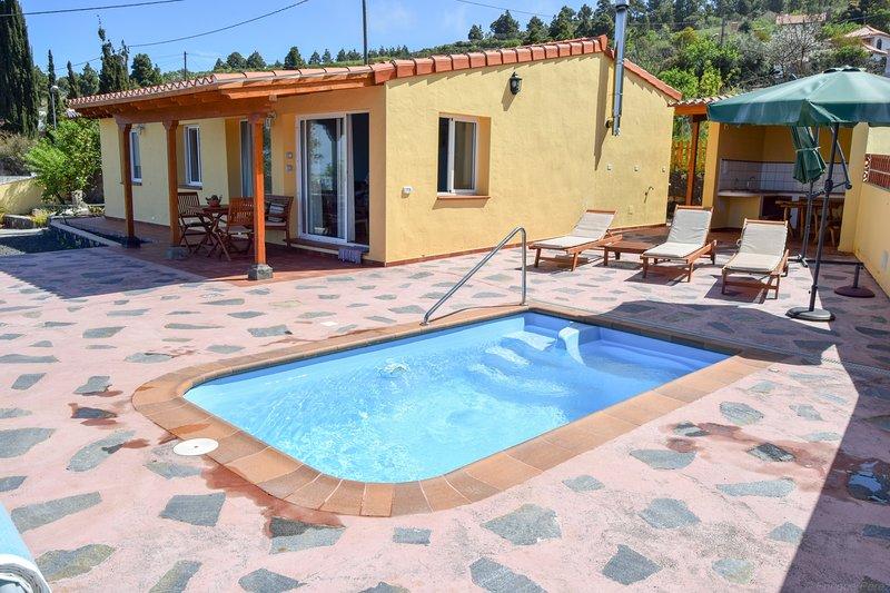 Casa Florita, Puntagorda, alquiler vacacional en Puntagorda