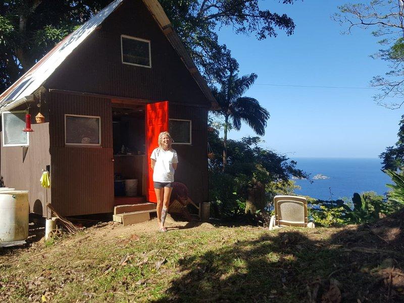 Tony's offgrid cabin, vakantiewoning in Charlotteville