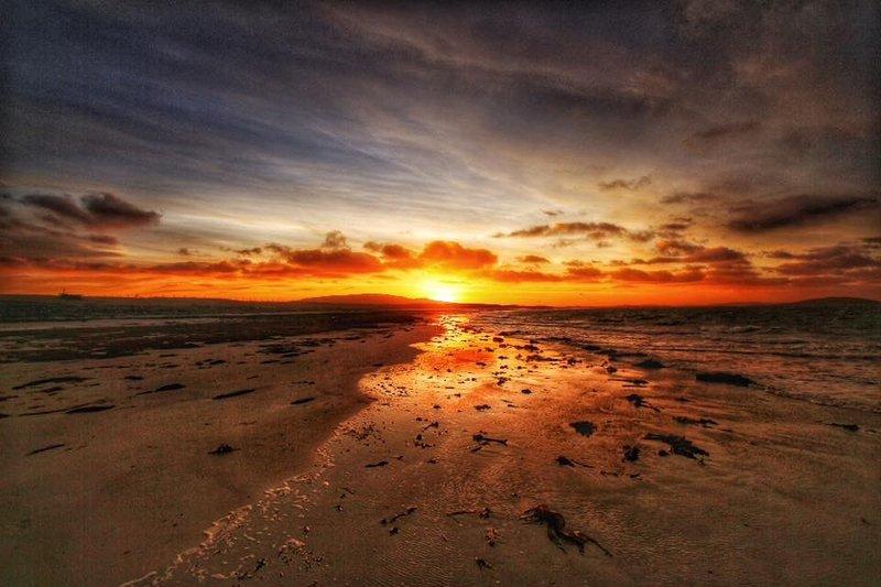 Sunset Daliburgh beach