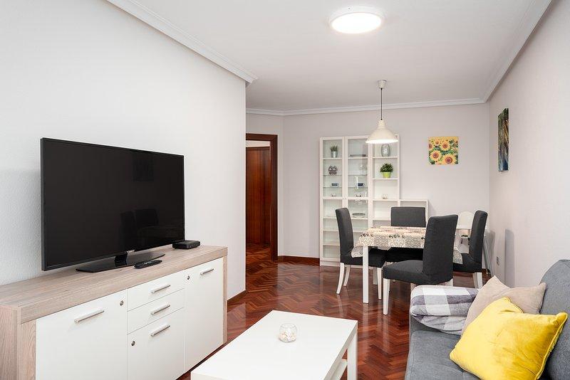 Apartamento en el mismo centro de Gijón, estupendo, WIFI, Movistar+, Sofá-Cama, holiday rental in Roces-Sur