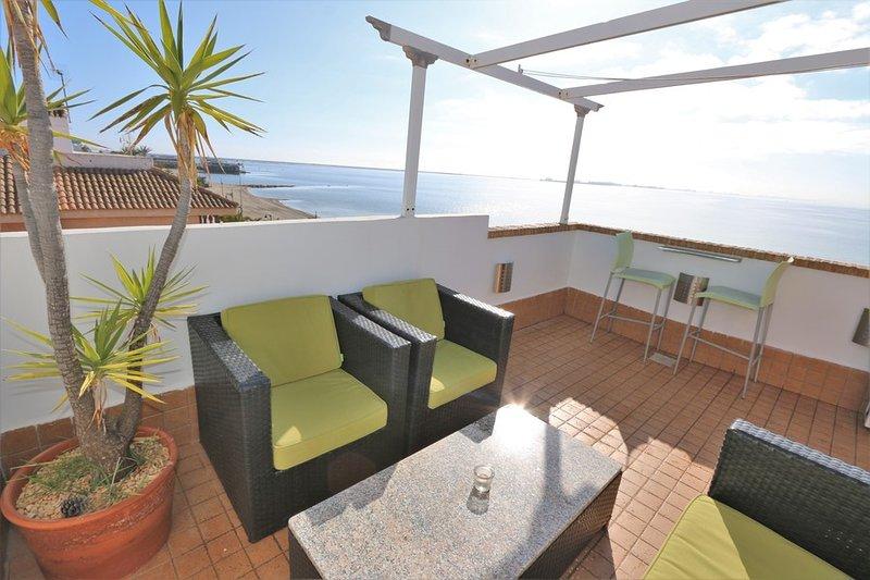 VDE-067 Frontline beach penthouse in Mar Menor, alquiler de vacaciones en San Pedro del Pinatar