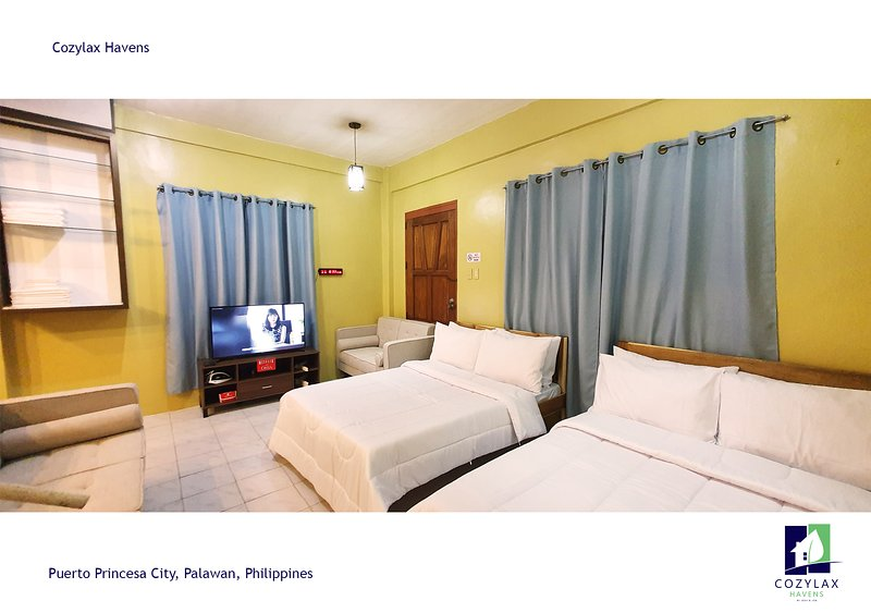 SPACIOUS Two-Storey Cozy House in the heart of Puerto Princesa Palawan, holiday rental in Puerto Princesa