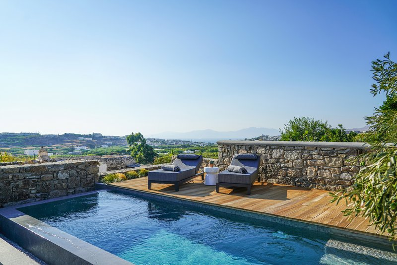 Ikies of Mykonos - Grand Executive Villa with private pool, vacation rental in Mykonos Town