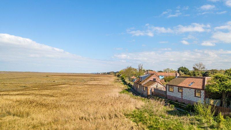 Marsh Retreat, holiday rental in Brancaster