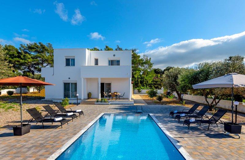 Vasilis Pool Villa, casa vacanza a Kamiros Scala