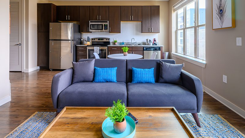 Viagem | Durham |Downtown 1BR w/Parking, location de vacances à Durham