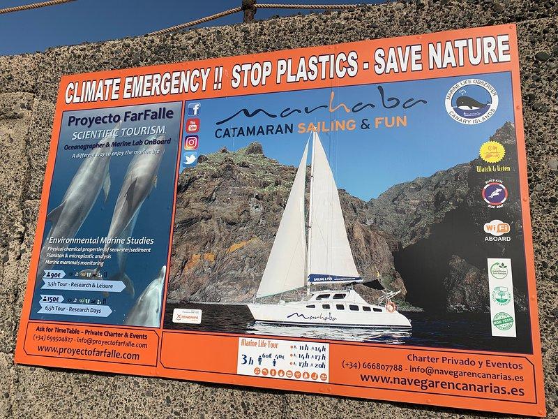 También hay viajes para aquellos con preocupaciones ambientales