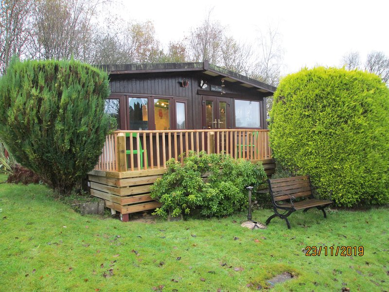 Chalet 23 Holiday lodge Builth Wells - perfect for touring  Mid Wales, location de vacances à Gwenddwr
