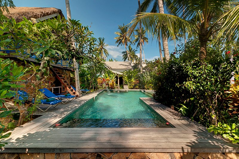 Exclusive Villas Complex, 4 BR, Candidasa w/ staff, casa vacanza a Tenganan