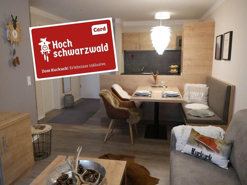 Ferienwohnung Feldberg schwarzwaldschick, holiday rental in Menzenschwand-Hinterdorf
