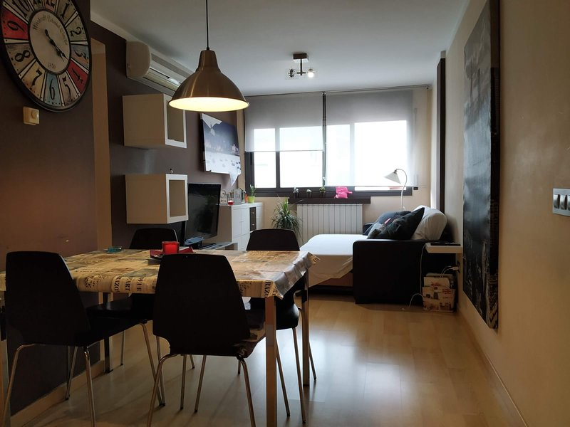 Beautiful apartment with terrace, holiday rental in Palafolls