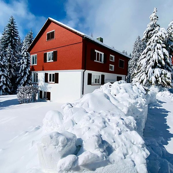 Luxus Ferienwohnung mit Ausblick am Nationalpark, aluguéis de temporada em Kniebis