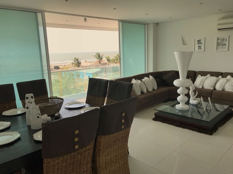 Acogedor y elegante apartamento para grupos, holiday rental in La Boquilla