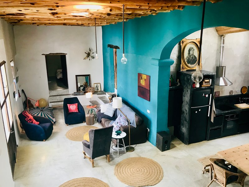 Can Bassa Roixa- Finca Ibicenca Patrimonio Histórico.6, holiday rental in Sant Antoni de Portmany