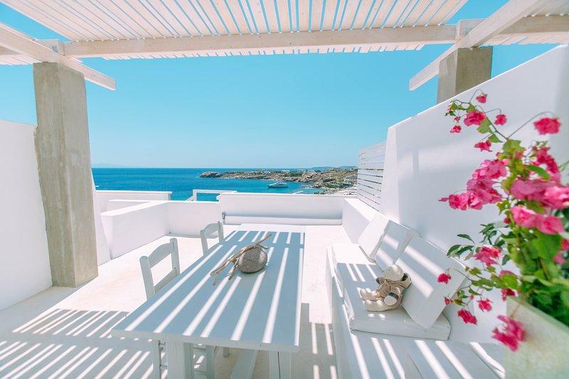Votsalaki Resort Mykonos- Design Superior Apartment, vacation rental in Paradise Beach